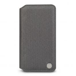 Moshi Overture ovitek za iPhone XS Max - Herringbone Gray