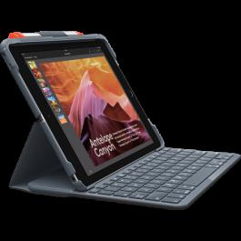 Tipkovnica Logitech Slim Folio za iPad 5 (2017) in iPad 6 (2018) - Angleška