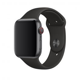 Apple Watch pašček 44mm: Sport Band M/L & X/L - črna
