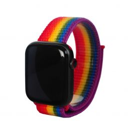 Next One Apple Watch pašček: Sport Loop 38/40mm - Pride