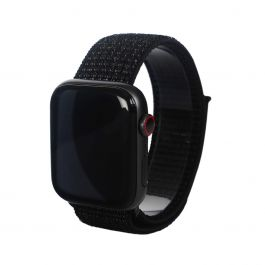 Next One Apple Watch pašček: Sport Loop 42/44mm - črna