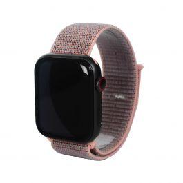Next One Apple Watch pašček: Sport Loop 38/40mm - peščeno roza