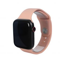 Next One Apple Watch pašček: Sport Band 38/40mm - peščeno roza