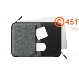 LAB.C Pocket Sleeve za Macbook 15''  - črna