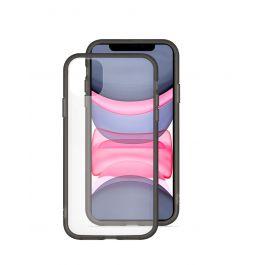 EPICO GLASS CASE iPhone 11 - prozorna/črna