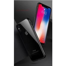 EPICO GLASS CASE for iPhone XS Max - transparent/black