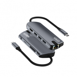 Next One USB-C PRO Multiport Adapter - vesoljno siva
