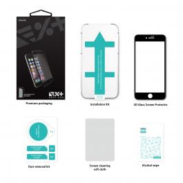 Next One 3D zaščitno steklo za iPhone 7/8 - bela