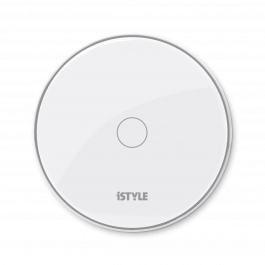 iSTYLE brezžični polnilec 15W + adapter