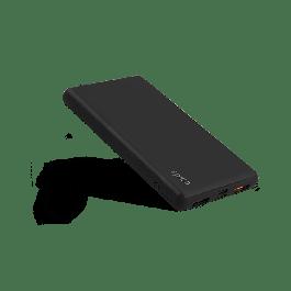 EPICO E10 prenosna baterija 10 000 mAh USB-A in USB-C + micro USB-C cable - črna