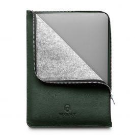 Woolnut Leather Folio za MacBook Pro 13 - zelena