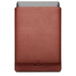 Woolnut Leather Sleeve za MacBook Pro 15 - usnjeno rjava