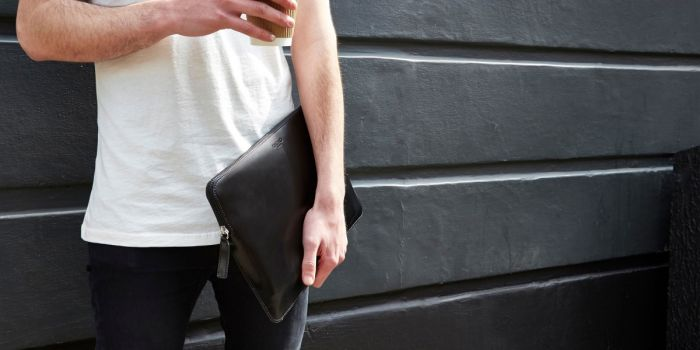 20bfbfb003bf Knomo EMBOSSED Laptop Sleeve 13inch - Black