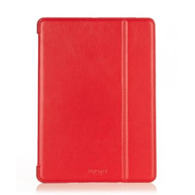 Knomo usnjeni preklopni ovitek za iPad Air - Scarlet
