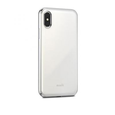 Moshi iGlaze for iPhone X - Pearl White