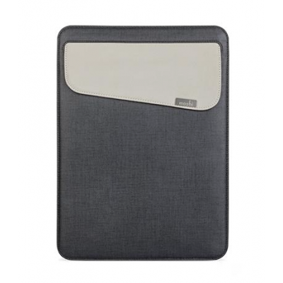 Moshi Muse Carrying Case for MacBook 12 - Graphite Black