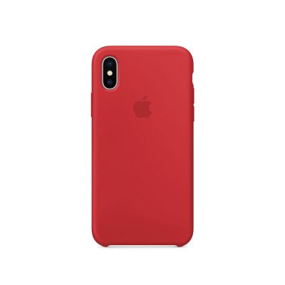 Apple - iPhone X Silicone Case - (PRODUCT)RED