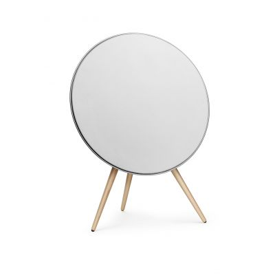 B&O BeoPlay A9 White with maple legs