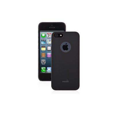 Moshi iGlaze HardShell Slim ovitek za iPhone 5s/SE - Graphite Black
