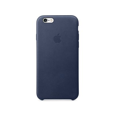 iPhone 6s Leather Case - Midnight Blue