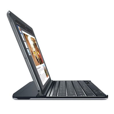 Logitech Ultrathin Magnetic clip-on keyboard cover za iPad Air 2 - Black