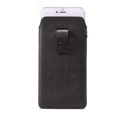 Decoded Leather Pouch for iPhone 6/6s/7/8 - Black