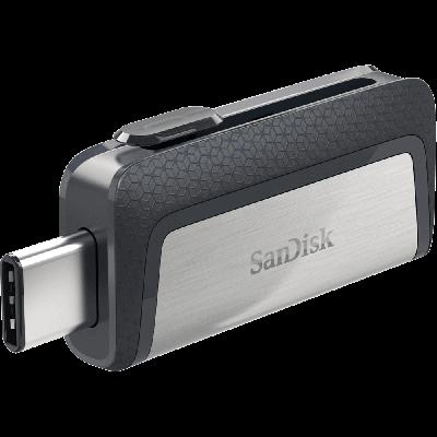 SanDisk - Ultra Dual Drive dvojni USB ključ 64GB