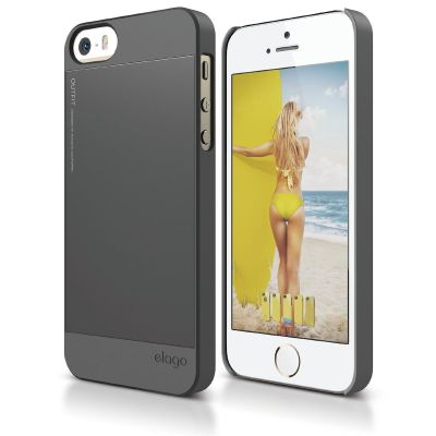 Elago S5 Outfit Case for iPhone 5/5s - Grey
