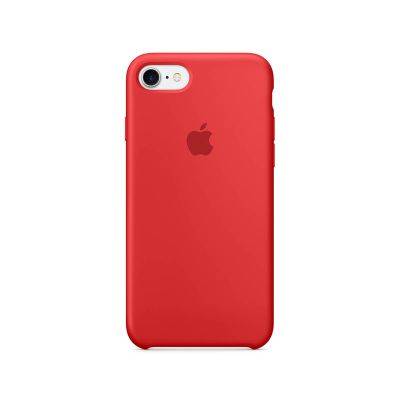 Apple - iPhone 7 Silicone Case - (PRODUCT)RED
