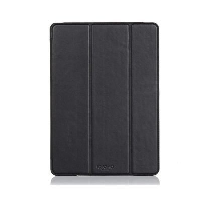 Knomo Leather Folio moulded case for iPad Air 2 - Black