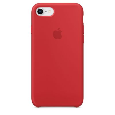 Apple - iPhone 8 / 7 Silicone Case - (PRODUCT)RED