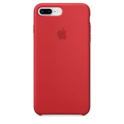 Apple - iPhone 8 Plus / 7 Plus Silicone Case - (PRODUCT)RED