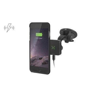 Wireless Charging Car Kit with Suction Cup Mount for iPhone 6/6S Plus