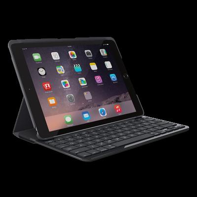 Logitech Slim Folio tipkovnica za iPad (2017-2018) - Črna