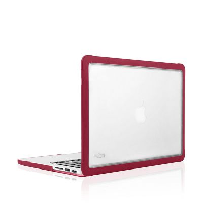 STM Dux Rugged Case for MacBook Pro 13 - chili