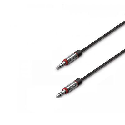 iLuv Premium Aux v Audio kabel, 0.9m - Black