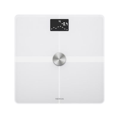 Nokia Body+ Full Body Composition WiFi Scale - White