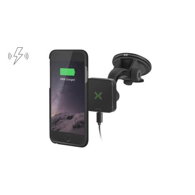 Wireless Charging Car Kit with Suction Cup Mount for iPhone 6/6S