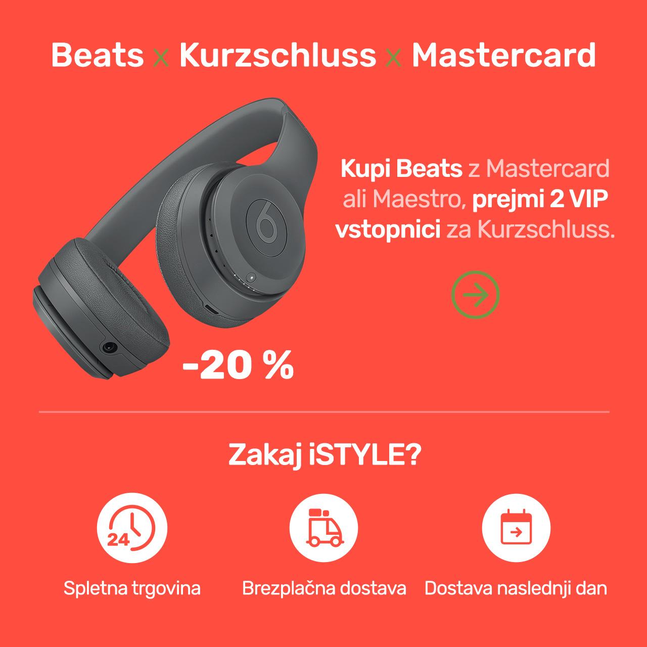 Beats x Kurzschluss x Mastercard