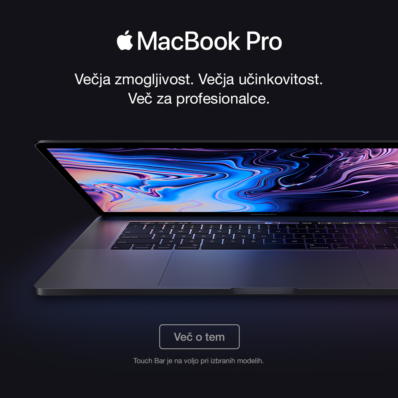 SI - MacBook Pro Touch Bar 2018