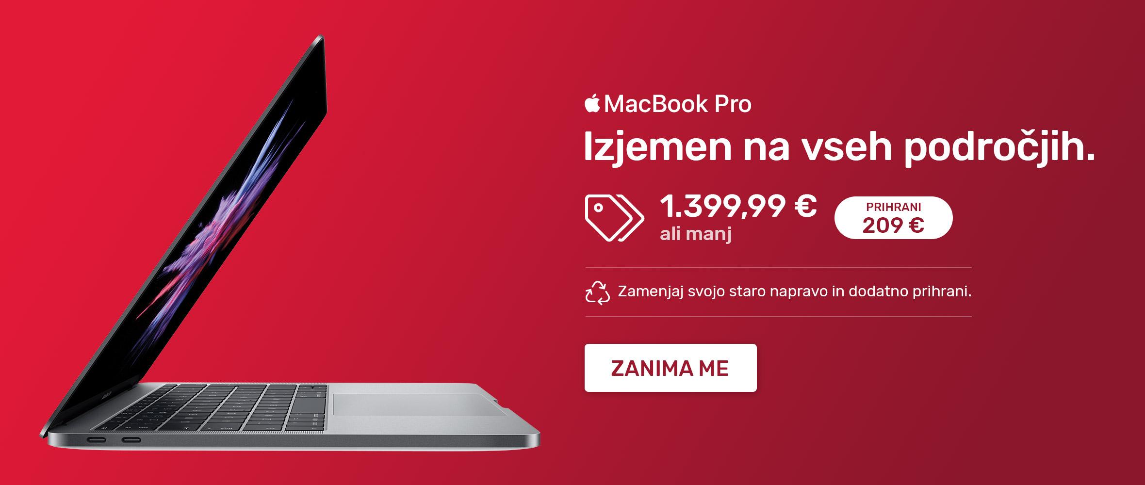 SI - MacBook Pro akcija
